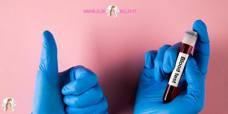 hamilelik kan testi sonuç ve kan tahlilinde hamilelik